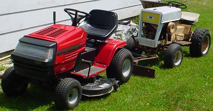 16 Mtd Tractor : Ben ayotte s mtd yard machines special edition tractor